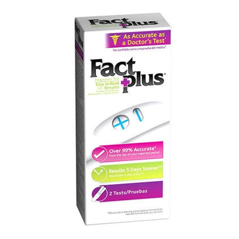 Clearblue Fact Plus Pregnancy Test