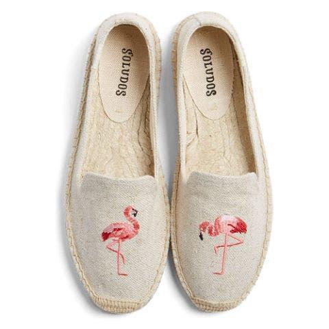 soludos flamingo espadrille flats