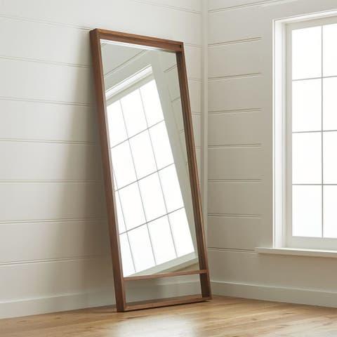 Crate & Barrel Blair Floor Mirror