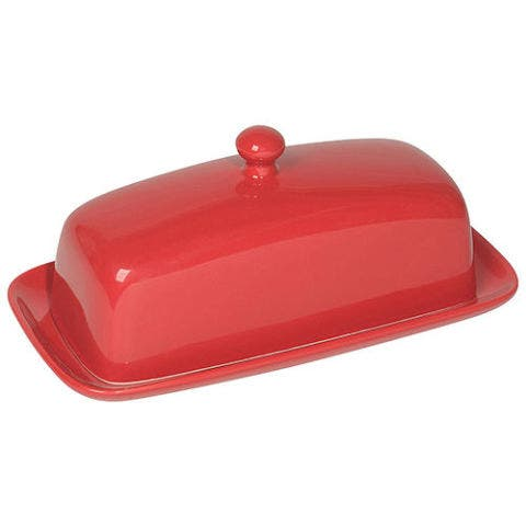 Now Designs Red Butter Dish