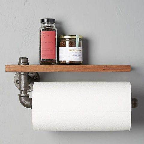 Black Walnut Paper Towel Holder