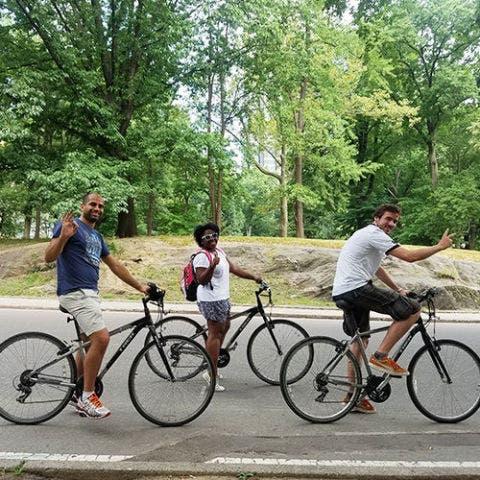 Central Park Bicycle Tour