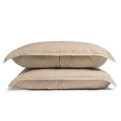 Parachute Home Toast Linen Shams