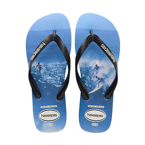 "<p><strong data-redactor-tag=""strong"" data-verified=""redactor""><em data-redactor-tag=""em"" data-verified=""redactor"">$17</em></strong> <a href=""https://us.havaianas.com/men-sandals/top-photoprint-sandal.html"" target=""_blank"" class=""slide-buy--button"" data-tracking-id=""recirc-text-link"">BUY NOW</a></p><p>You'll be so wavy in these Havaianas. These cool flip-flops with a retro surfer-print sole and contrasting black thong are the most stylish Havaianas we've seen in a while. Friends and fellow beach bums will be surprised when you kick-off these otherwise stylishly minimal sandals&nbsp;to reveal the cool photo print underneath. For only $17, we guarantee you won't find a more stylish flip-flop while&nbsp;surfing the net.&nbsp;</p>"