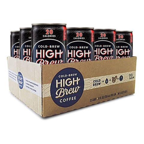 High Brew Black & Bold Cold Brew Coffee