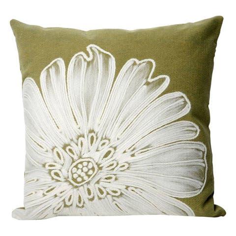 Liora Manne Antique Medallion Throw Indoor/Outdoor Throw Pillow