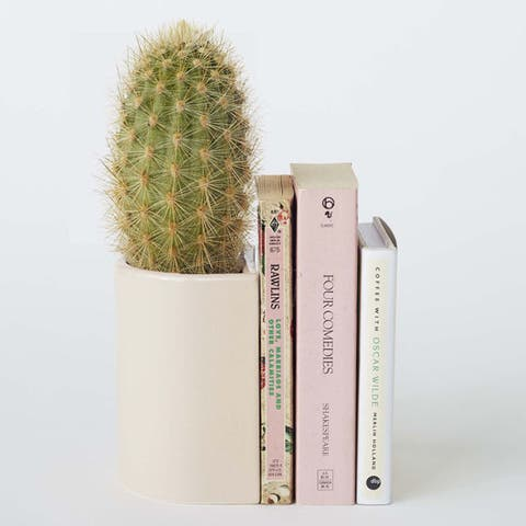 Thing Industries X Sylvester Bookend Planter
