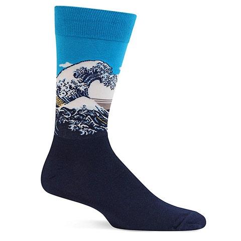 Hot-Sox-Great-Wave-Socks