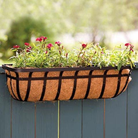 Panacea Products Flat Iron Series Window/Deck Planter