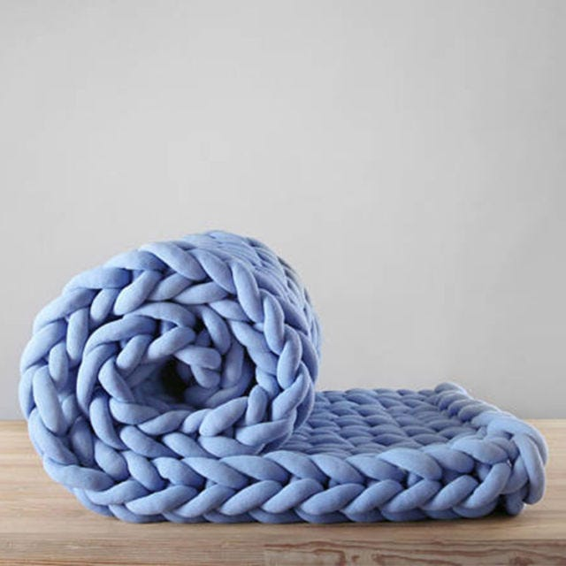 Ohhio Braid Blanket