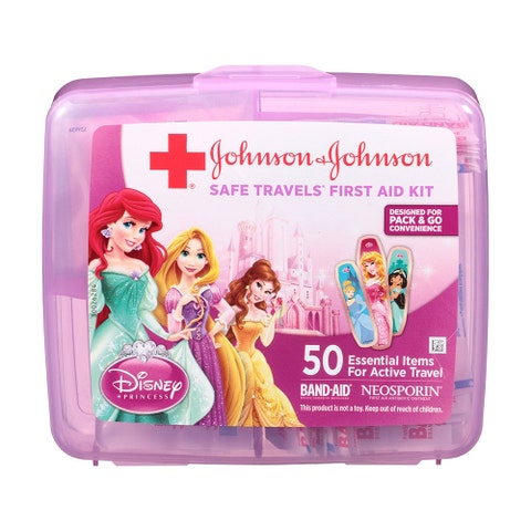 Johnson & Johnson Safe Travels First Aid Kit