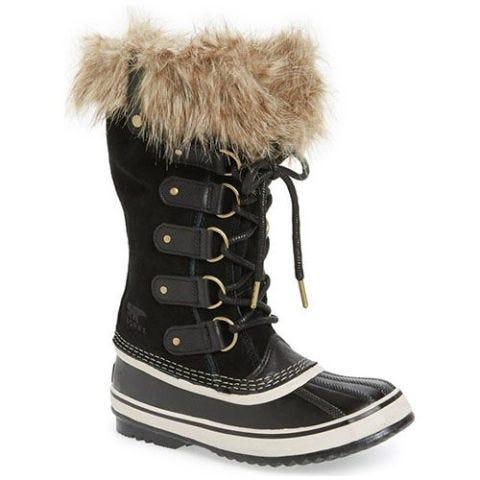 sorel joan of arctic black snow boots