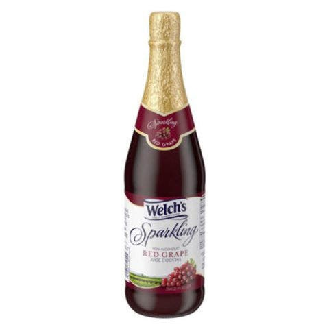 Welch's Bottled Sparkling Red Grape Juice Cocktail