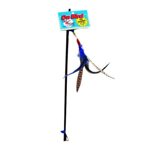 dabird feather cat toy
