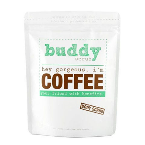 Buddy Hey Gorgeous I'm Coffee Scrub