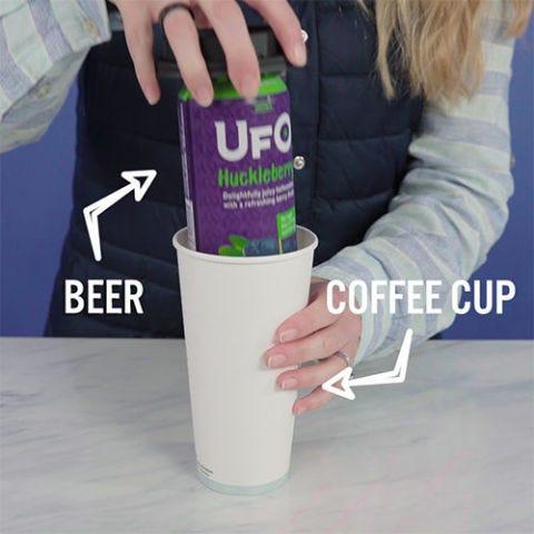 Hidden Coffee Cup Flask