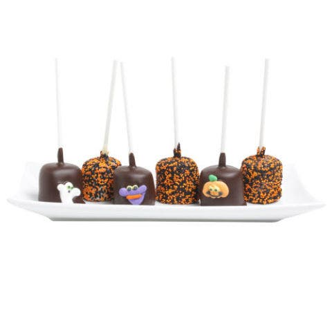 DYLAN'S CANDY BAR BELGIAN HALLOWEEN CHOCOLATE-COVERED MARSHMALLOWS