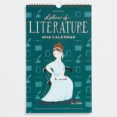 Idlewild Co. Ladies of Literature Calendar