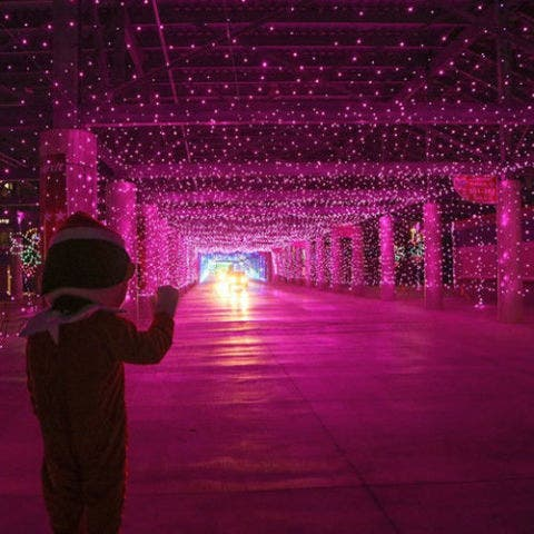 Las Vegas Motor Speedway Light Show