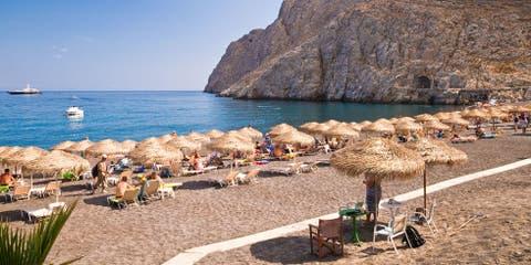 beaches in Santorini Greece