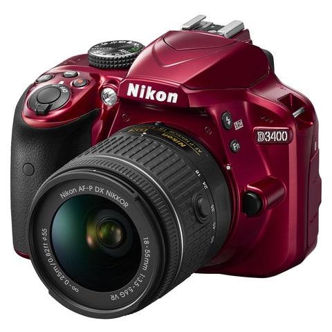 Nikon D3400 DSLR Camera Triple Lens Kit