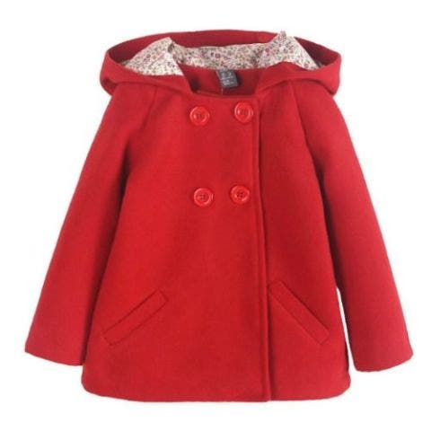 Girls Red Winter Jacket
