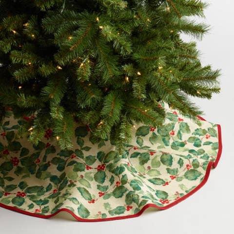 Cost Plus World Market Jute Anastasia Tree Skirt