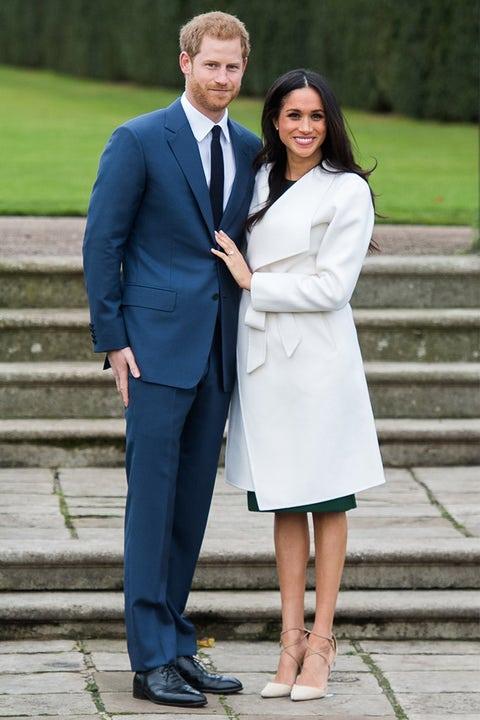 meghan markle white coat