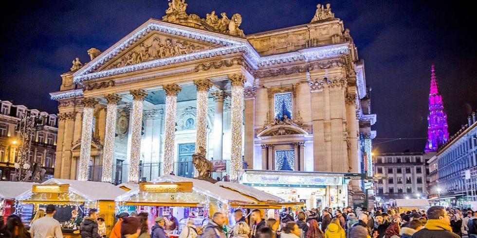Plaisirs d'Hiver — Brussels, Belgium