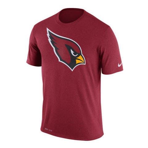 Men's Arizona Cardinals Nike Cardinal Legend Logo Essential 3 Performance T-Shirt