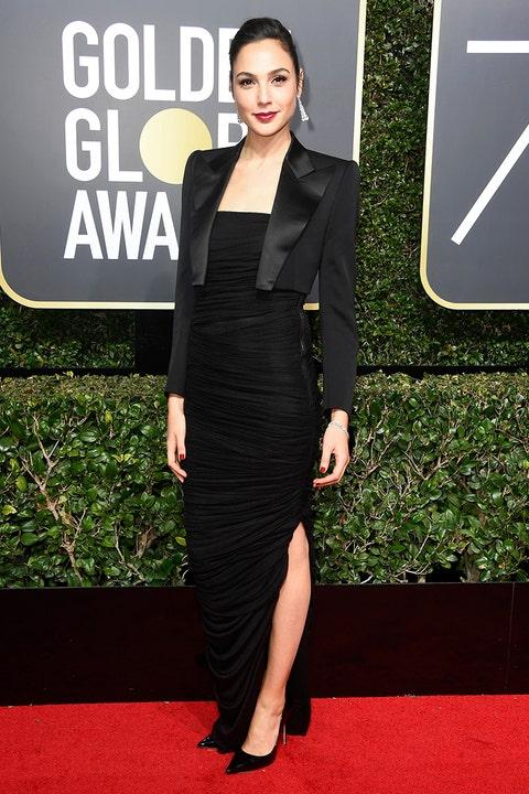 Gal Gadot Golden Globes 2018