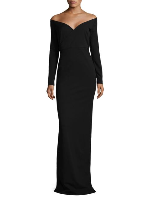 Solace London Victorie Off-The-Shoulder Gown
