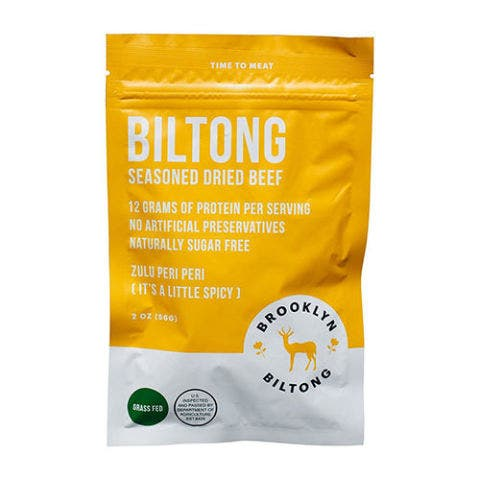 Brooklyn Biltong Seasoned Dried Beef