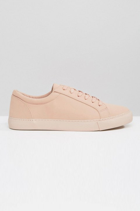 ASOS-Lace-Up-Pink-Sneakers