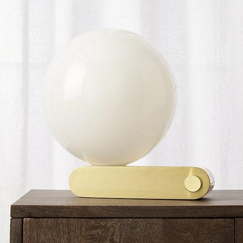 CB2 X Fred Segal Sphere Studio Desk Lamp