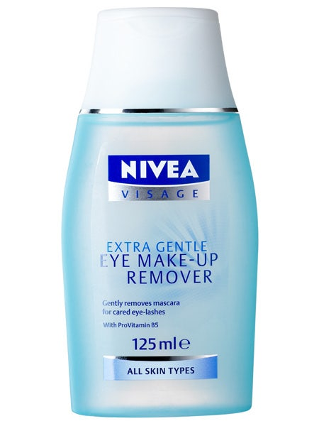<br />Nivea Visage Extra Gentle Eye Make Up Remover, £4.65 <br />