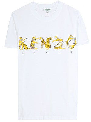 "<p>Graphic logo tees are a forever essential and with the debut of Carol Lim's and Humberto Leon's creative reign at Kenzo, why not celebrate with this bright white and tonal yellow logo tee?</p> <p><br />Kenzo logo T-shirt, £72, <a href=""http://www.mytheresa.com/en-gb/logo-t-shirt-190452.html%20"" target=""_blank"">My Theresa</a></p>"