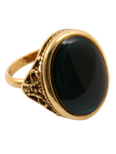 "<p>We spotted this chunky vintage looking ring on Fearne Cotton's index finger and assumed it would be designer but no – it's a bargain from rocknrose.co.uk. Result!</p>  <p>£16, <a href=""http://www.rocknrose.co.uk/products/Orla-Vintage-Cocktail-Ring.html"">rocknrose.co.uk</a></p>"