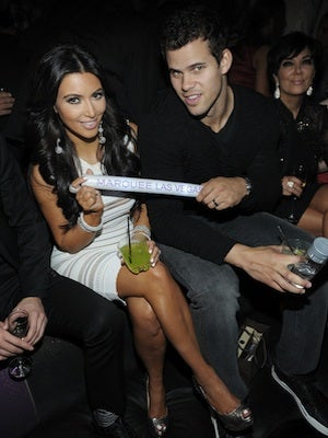 """Only 72 days after their $10 million nuptials, Kim Kardashian and Kris Humphries are splitting up. """"Yes @kimkardashian is filing for divorce this morning,"""" Ryan Seacrest tweeted  this morning. Maybe it was due to the fact that she needed a stepladder everytime she wanted to kiss her husband? Whatever the reason, we're not going to judge, as Kim and Kris aren't the only celeb couple whose marriage ended before a one-year anniversary..."""