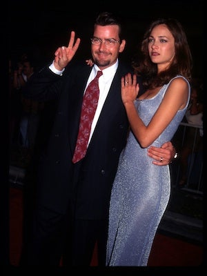The ultimate winner, Charlie Sheen, is no stranger to the world of short-fuelled relationships. But he lasted FIVE MONTHS. That's ages compared to some of these other celeb divorcees. Maybe he's not as crazy as we all think he is...