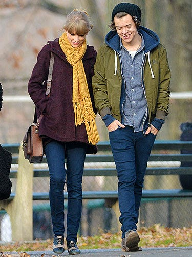 """<p>Taylor Swift was spotted out about about with her rumoured One Directioner boyfriend, Harry Styles. Taylor chose the perfect ensemble for a romantic day out in New York with her fella. Opting for a pair of skinny jeans, a burgundy coat and a mustard yellow scarf to stay warm. Good choice.</p> <p><a title=""""http://www.cosmopolitan.co.uk/love-sex/relationships/taylor-swift-the-love-files"""" href=""""http://www.cosmopolitan.co.uk/love-sex/relationships/taylor-swift-the-love-files"""" target=""""_self"""">CHECK OUT TAYLOR SWIFT'S LOVE FILES</a></p>"""