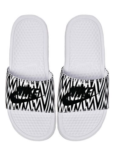"<p>We couldn't quite get our head around the pool slides trend until we saw these bad boys. Slightly more slimline than other styles we've seen and we love the graphic print, too.</p> <p>Nike Benassi printed sliders, £16, <a href=""http://www.asos.com/Nike/Nike-Benassi-White-Printed-Sliders/Prod/pgeproduct.aspx?iid=3528189&SearchQuery=nike&Rf-700=1000&sh=0&pge=0&pgesize=36&sort=-1&clr=White"" target=""_blank"">asos.com</a></p> <p><a href=""http://www.cosmopolitan.co.uk/fashion/shopping/spring-shoes-fashion-high-street"" target=""_blank"">STEP INTO NEW SEASON: 10 PAIRS OF SPRING-LIKE SHOES</a></p> <p><a href=""http://www.cosmopolitan.co.uk/fashion/shopping/handbags-spring-fashion-high-street"" target=""_blank"">NEW SEASON ARM CANDY: 12 HOT HANDBAGS</a></p> <p><a href=""http://www.cosmopolitan.co.uk/fashion/shopping/spring-fashion-trends-2014?page=1"" target=""_blank"">7 BIG FASHION TRENDS FOR SPRING 2014</a></p>"