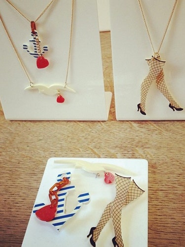 "<p>Stocking and suspenders and nautical references. There's a Sailor Jerry theme running through Tatty Devine's latest collection. We like.</p> <p><a href=""http://www.cosmopolitan.co.uk/fashion/shopping/autumn-winter-fashion-2014-trends-to-buy-now?page=1"" target=""_blank"">AUTUMN/WINTER 2014 PIECES TO BUY NOW</a></p> <p><a href=""http://www.cosmopolitan.co.uk/fashion/shopping/10-forever-pieces-you-need-in-your-wardrobe"" target=""_blank"">10 FOREVER PIECES THAT WILL NEVER DATE</a></p> <p><a href=""http://www.cosmopolitan.co.uk/fashion/shopping/celebrity-ad-campaigns-spring-summer-2014-rihanna-lady-gaga-jennifer-lawrence"" target=""_blank"">BEST CELEBRITY AD CAMPAIGNS</a></p>"