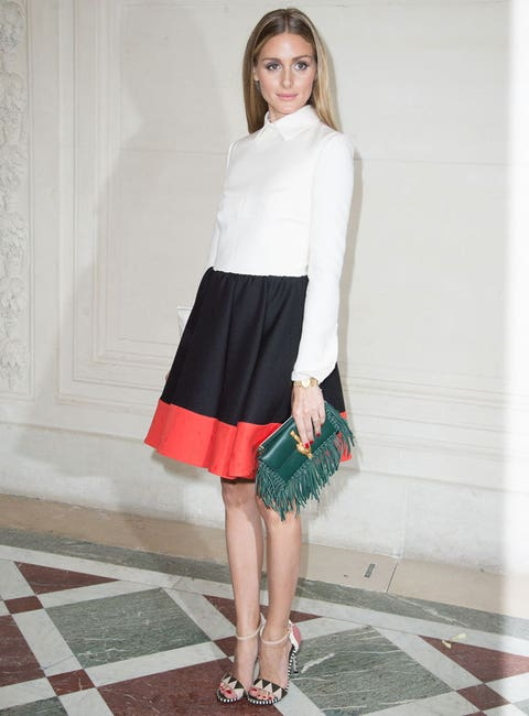 """<p>That green clutch! Those shoes! And Olivia's Valentino dress isn't half bad either...</p> <p><a href=""""http://www.cosmopolitan.co.uk/fashion/celebrity/celebrity-style-gallery"""">THIS WEEK'S BEST CELEBRITY STYLE</a></p> <p><a href=""""http://www.cosmopolitan.co.uk/fashion/news/paris-fashion-week-versace"""" target=""""_blank"""">J.LO STUNS IN SILVER AT VERSACE</a></p> <p><a href=""""http://www.cosmopolitan.co.uk/fashion/shopping/celebrity-weddings-1"""" target=""""_blank"""">AMAZING ALTERNATIVE CELEBRITY BRIDAL LOOKS</a></p>"""