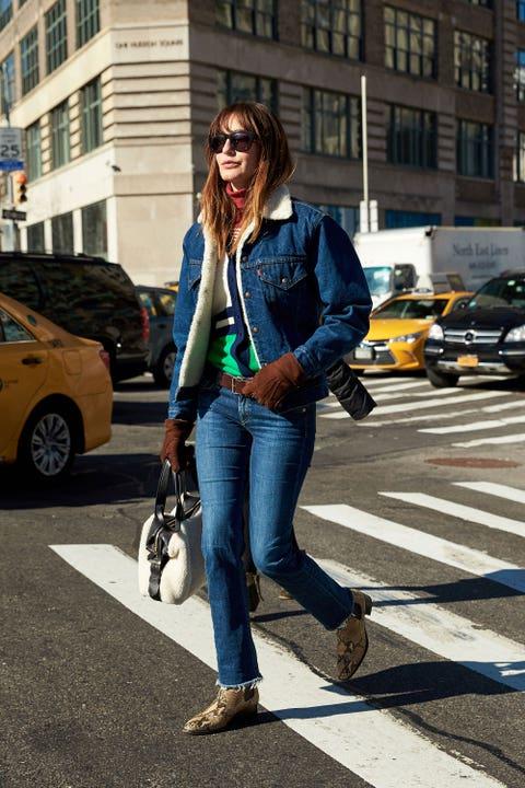 Clothing, Wheel, Road, Trousers, Window, Infrastructure, Street, Jeans, Pedestrian crossing, Outerwear,