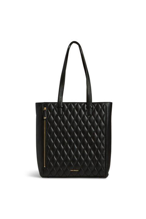 """<p>Upgrade your backpack to a ladylike tote, which holds everything from your laptop to after-work gym clothes to last night's leftovers (aka tomorrow's lunch). It zips shut too, so you won't have to worry about everything spilling out if it accidentally tips over. <a href=""""https://ad.doubleclick.net/ddm/clk/304834733;132203969;f""""><em>Quilted Leah Tote</em></a><em>, <em>VERA BRADLEY, </em>$278 </em></p>"""