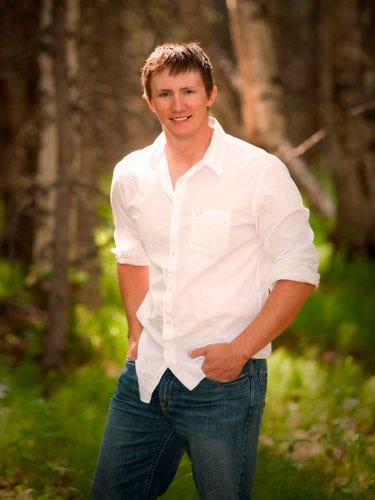 """<p><b>Name:</b> Tyler Freel</p> <p><b>Age:</b> 24</p> <p><b>Location:</b> North Pole</p> <p><b>Job:</b> Mechanical-Engineering Student</p> <p><b>E-mail:</b> <a href=""""mailto:AK.bachelor09@gmail.com"""">AK.bachelor09@gmail.com</a></p><p><b>Alpha guy:</b> """"I'm competitive. I never want to be average."""" </p><p><b>Chick trait he craves:</b> """"I want a girl who's going to be there. She has to take commitment seriously."""" </p><p><b>Awesome first date:</b> """"Once, I took a girl on a helicopter ride to the top of a glacier. Then we finished with a canoe trip and a picnic lunch.""""</p><p><b>Relationship freak-out:</b> """"Not knowing what she's thinking. Why can't girls be more up-front?""""</p><p><b>Do you google her before a first date?</b> """"Yes""""</p>"""