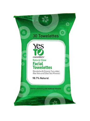 """When—despite your best efforts—your makeup has melted all over your face, wipe it away with these soothing, cucumber-infused cloths.  <br /><br /> Yes to Cucumbers Soothing Facial Towelettes, $3, <a href=""""http://www.dermstore.com/product_Yes+To+Cucumbers+-+Soothing+Hypoallergenic+Facial+Towelettes_30855.htm""""target=""""_blank"""">dermstore.com</a>"""