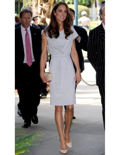 Kate's silky dress by Roksanda is gorge—but sells for over $1000!
