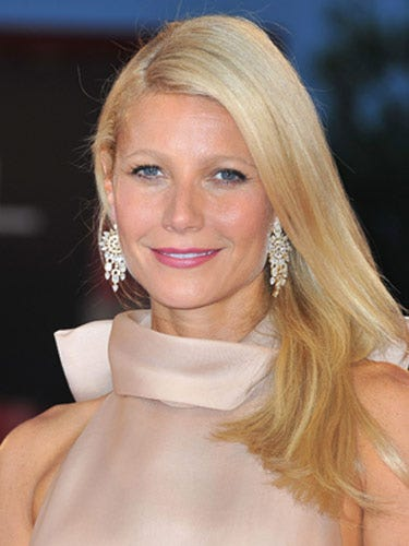 "We love Gwyneth Paltrow's sophisticated makeup, and it's all about the rose-colored lips. When you wear a great shade of lipstick, you really don't need anything else.  <br /><br /> <b>Key Product:</b> Chanel Rouge Coco Shine Lipstick in Boy, $32, <a href=""http://www.chanel.com/en_US/fragrance-beauty/Makeup-Lipstick-ROUGE-COCO-SHINE-119570""target=""_blank"">chanel.com</a>"